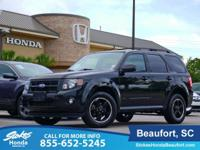 2011 Ford Escape in Black. AWD. Come to the experts!
