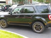 2011 Ford Escape XLT - Black. Sports Appearance