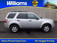 Options:  2011 Ford Escape Xlt|Silver|Clean Vehicle