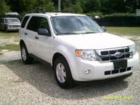 Options:  2011 Ford Escape  Clean Local Trade In! All