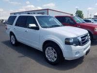 New Price! White 2011 Ford Expedition Limited RWD