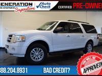 4WD and White. Flex Fuel! Right SUV! Right price! Are