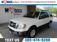 White 2011 Ford Expedition XL 4WD 6-Speed Automatic