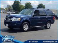 Blue 2011 Ford Expedition XLT 4WD 6-Speed Automatic