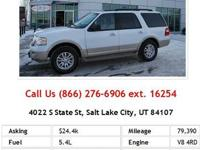 2011 Ford Expedition XLT XLT SUV Oxford White V8 5.4L