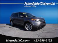 Gray 2011 Ford Explorer Limited FWD 6-Speed Automatic