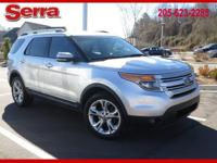 Ingot Silver 2011 Ford Explorer Limited AWD 6-Speed