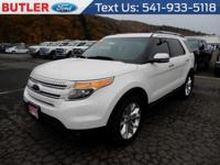 White 2011 Ford Explorer Limited AWD 6-Speed Automatic