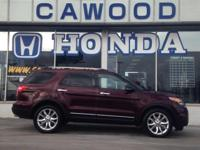 Options:  2011 Ford Explorer Limited|Red|3.39 Axle