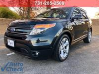 2011 Ford Explorer Limited FWD 6-Speed Automatic with