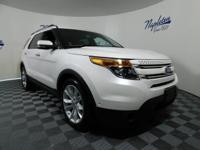 2011 Ford Explorer White Platinum Metallic Tri-Coat **