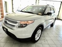 White Suede 2011 Ford Explorer XLT AWD 6-Speed