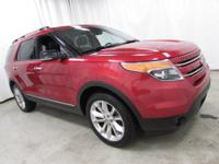 Options:  2011 Ford Explorer Xlt|Red|Recent Arrival!