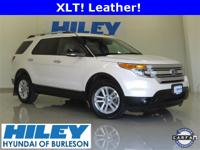 2011 Ford Explorer XLT 3.5L V6 FWD. Automatic. Leather.