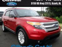 2011 Ford Explorer XLT FWD 3.5L V6 Ti-VCT Red Candy