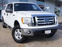 2011 Ford F-150 FX4 Oxford White over Steel Gray