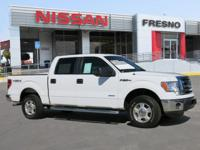 Oxford White exterior, XLT trim. CARFAX 1-Owner.