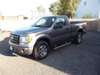 Exterior Color: gray, Body: Regular Cab Pickup, Engine: