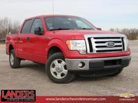 Clean CARFAX. Race Red 2011 Ford F-150 RWD 6-Speed