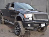 This 2011 Ford F-150 4dr - features a 5.0L 8 Cylinder