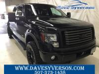 Black 2011 Ford F-150 FX4 4WD 6-Speed Automatic