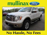 Recent Arrival! CARFAX One-Owner.White 2011 Ford F-150