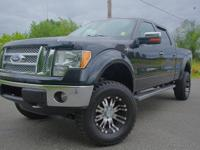 LIFTED,35 INCH TIRES,PRO COMP ALLOY WHEELS,5.0L V8 FFV