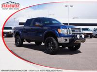 Options:  2011 Ford F-150 Lariat|Blue|Black|4 Wheel