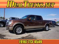 Options:  2011 Ford F-150 Supercrew 4X4