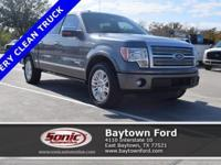 Don't let this amazing 2011 Ford F-150 Platinum get