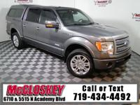Pamper yourself in this low miles 2011 Ford F-150