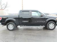 New Price! 2011 Ford F-150 Lariat Tuxedo Black Metallic