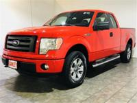 Race Red 2011 Ford F-150 STX 4WD 6-Speed Automatic
