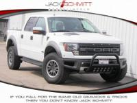 BUILT TOUGH! Presenting the 2011 Ford F-150 SVT Raptor!