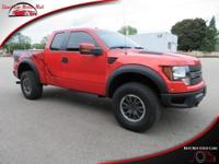 This four wheel drive 2011 Ford F-150 SVT Raptor