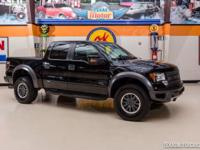 2011 Ford F-150 SVT Raptor 4X4  BLACK 2011 Ford F-150