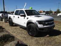 Options:  2011 Ford F-150 Svt Raptor Supercrew 5.5-Ft.