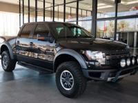 ** AWESOME BLACK SVT RAPTOR ** 4 x 4 ** PREFERRED PKG