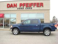 LARIAT PKG. LOADED HEATED & COOLED LEATHER , 4X4 ,