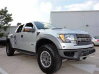 THIS 2011 FORD F-150 RAPTOR JUST CAME IN. THIS 6.2L V8