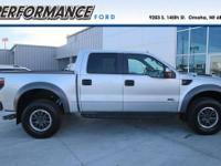 Ford Certified, LOW MILES - 19,150! SVT Raptor trim.
