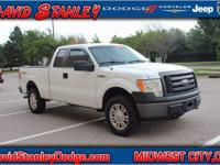F-150 XL, Super Cab, 5.0L V8 FFV, Automatic, 4WD, and