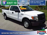 Exterior Color: white, Body: Extended Cab Pickup,