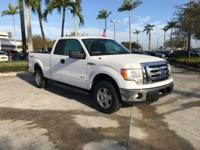 2011 Ford F-150 XLT in Oxford White. 4WD. A true tug