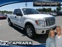 White 2011 Ford F-150 4WD 6-Speed Automatic Electronic