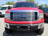 Options:  2011 Ford F-150 Xlt|Race Red/Steel Gray|V8