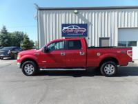 Our 2011 Ford F-150 XLT SuperCrew can be classified as