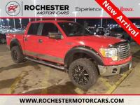 Recent Arrival! F-150 XLT Red w/ XLT Chrome Package and