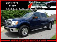 Exterior Color: blue flame metallic, Body: 4x4 XLT 4dr