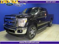 4x4 Extended Cab Lariat 6.7L Diesel with leather and